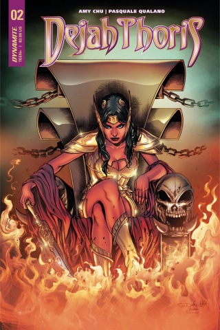 Dejah Thoris #2 (Davila Cover)