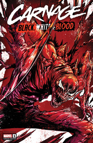 Carnage: Black, White, and Blood #1 (Checchetto Cover)