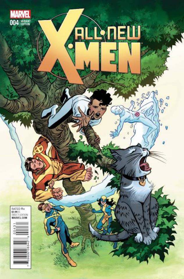 All-New X-Men #4 (Brigman Classic Cover)