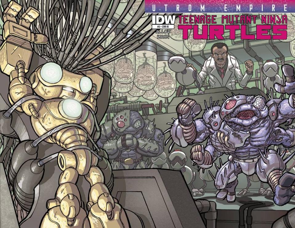 Teenage Mutant Ninja Turtles: Utrom Empire #3 (Subscription Cover)