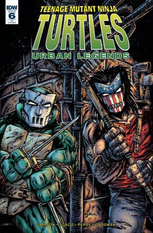 Teenage Mutant Ninja Turtles: Urban Legends #6 (10 Copy Eastman Cover)