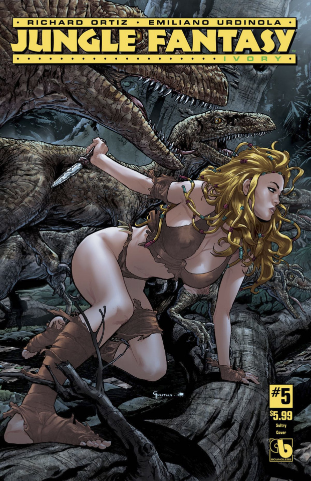 Jungle Fantasy: Ivory #5 (Sultry Cover)