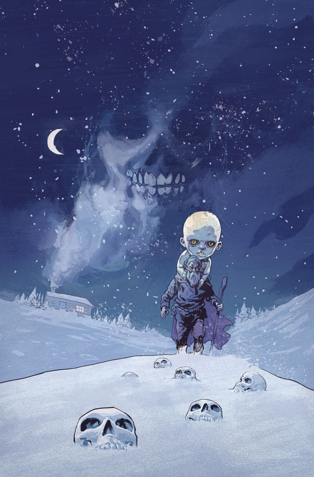The Storyteller: Ghosts #1 (Walsh Cover)