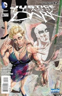 Justice League Dark #34 (Selfie Cover)