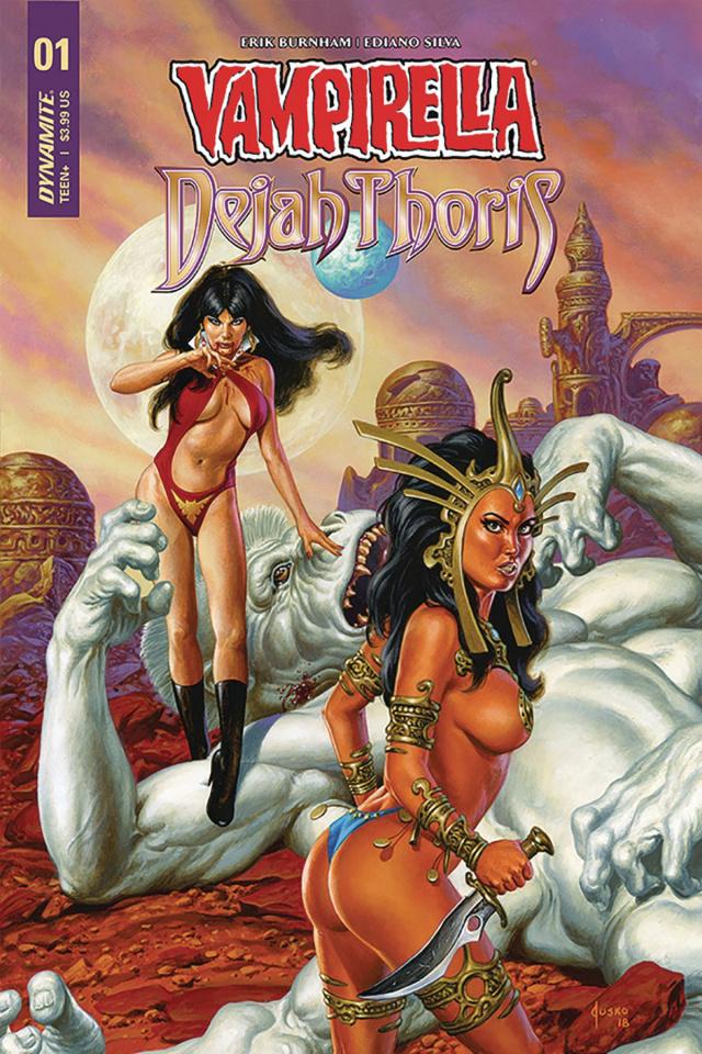 Vampirella / Dejah Thoris #1 (Jusko Cover)