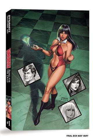 Vampirella: Roses for the Dead #1 (Deluxe Collectors Box)