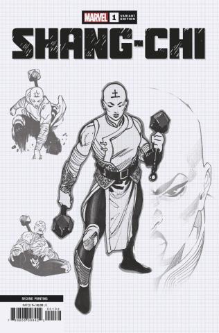 Shang-Chi #1 (Sketch 2nd Printing)