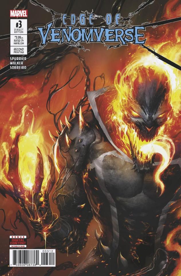 Edge of Venomverse #3 (2nd Printing Mattina Cover)