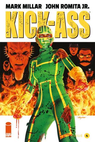Kick-Ass #4 (Mayhew Cover)
