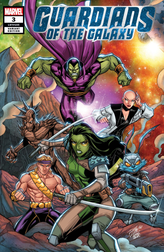 Guardians of the Galaxy #3 (Ron Lim Cover)
