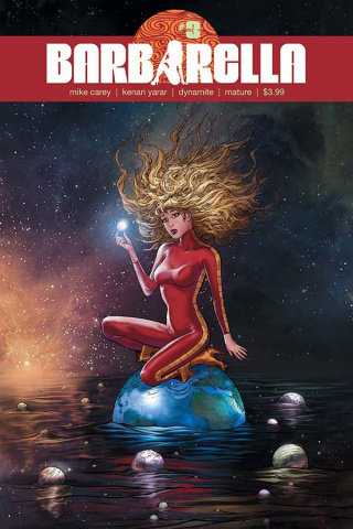 Barbarella #3 (Yarar Subscription Cover)