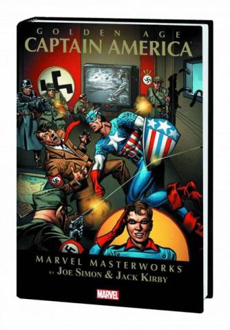 Golden Age Captain America Vol. 1 (Marvel Masterworks)