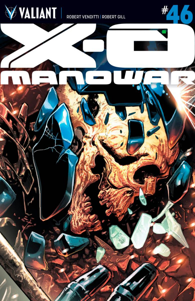 X-O Manowar #46 (Jimenez Cover)