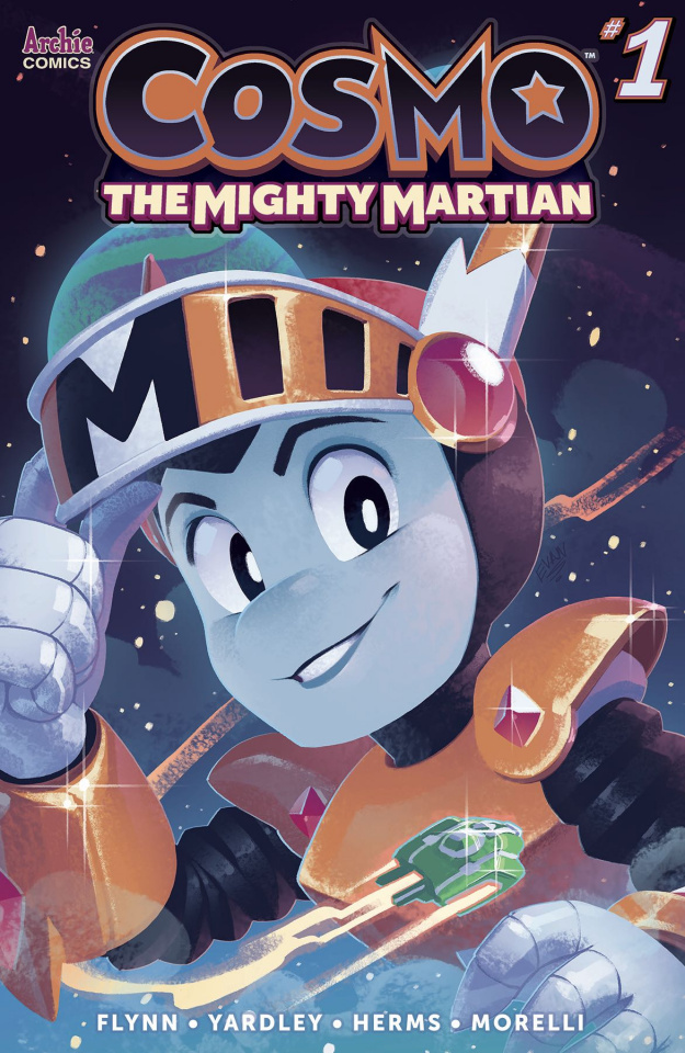 Cosmo: The Mighty Martian #1 (Stanley Cover)