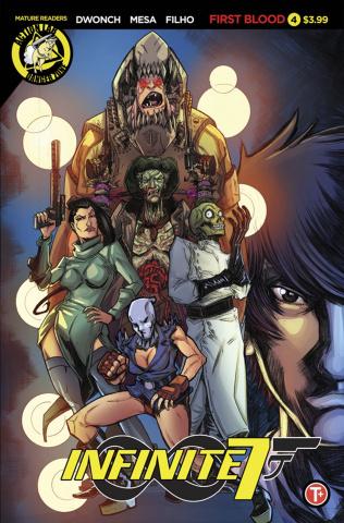 Infinite Seven #4 (Mesa Cover)
