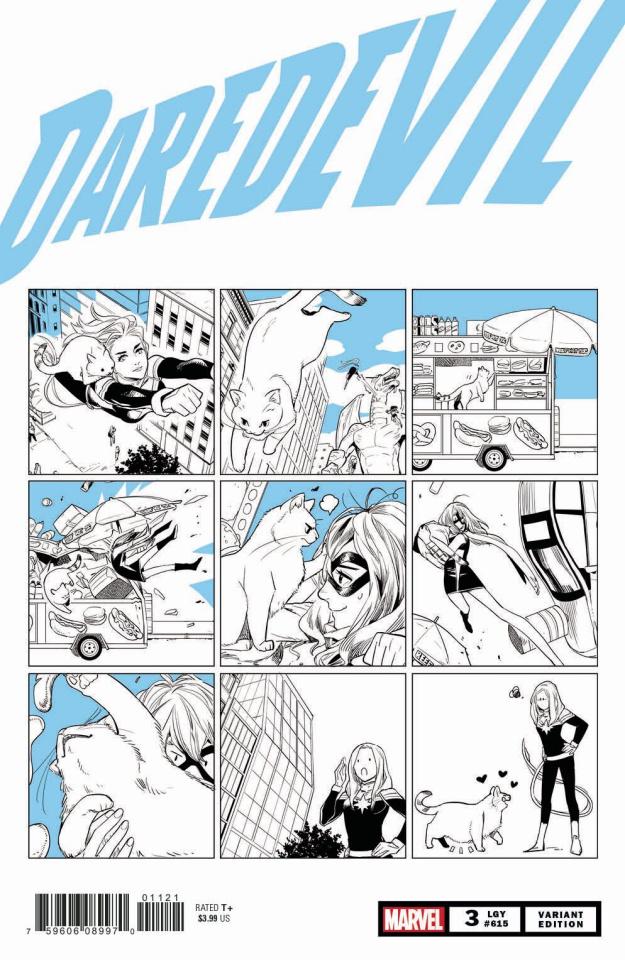 Daredevil #3 (Cat Cover)