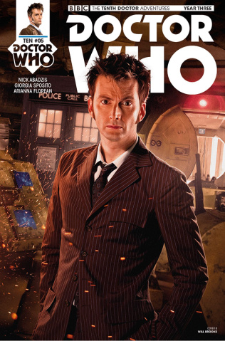 Doctor Who: New Adventures with the Tenth Doctor, Year Three #5 (Photo Cover)