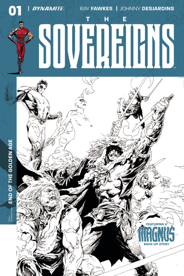 The Sovereigns #1 (30 Copy Tan B&W Cover)
