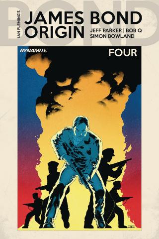 James Bond: Origin #4 (Cassaday Cover)