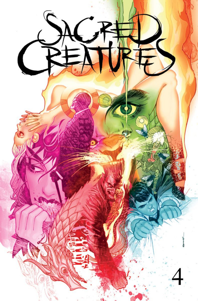 Sacred Creatures #4 (25 Copy Cover)