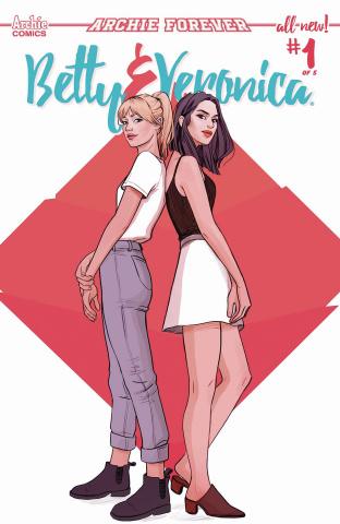 Betty & Veronica #1 (Lanz Cover)