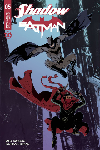 The Shadow / Batman #5 (Carey Cover)