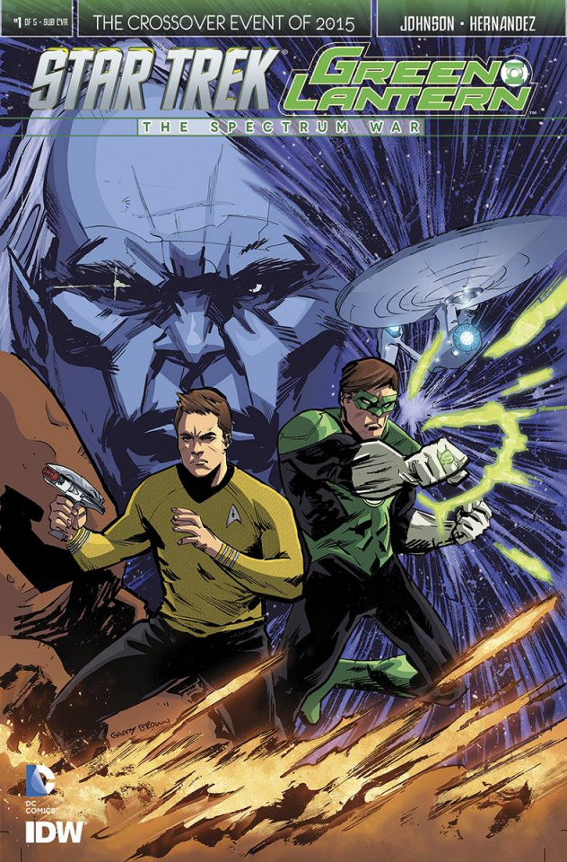 Star Trek / Green Lantern #1 (Subscription Cover)