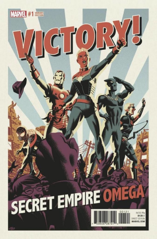 Secret Empire: Omega #1 (Michael Cho Cover)