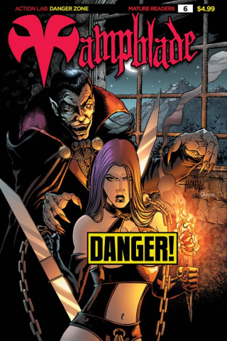 Vampblade #6 ('90s Monster Risque Cover)