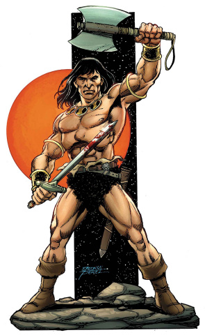 The Savage Sword of Conan #1 (Perez Cover)