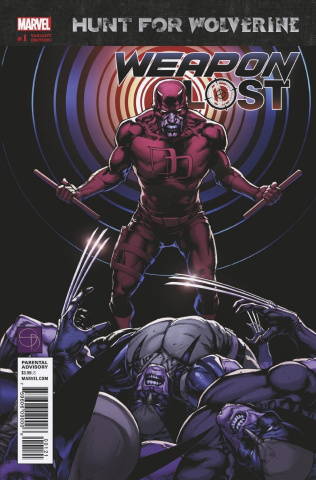 Hunt for Wolverine: Weapon Lost #1 (Davis Cover)