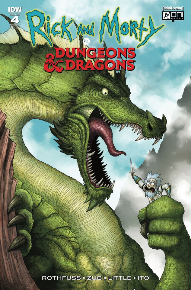 Rick and Morty vs. Dungeons & Dragons #4 (10 Copy Cover)