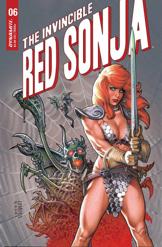 The Invincible Red Sonja #6 (Linsner Cover)
