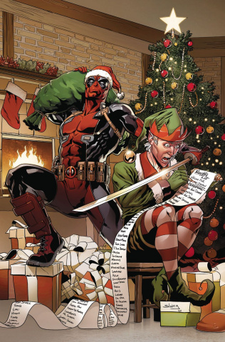Deadpool #7 (Sliney Cover)