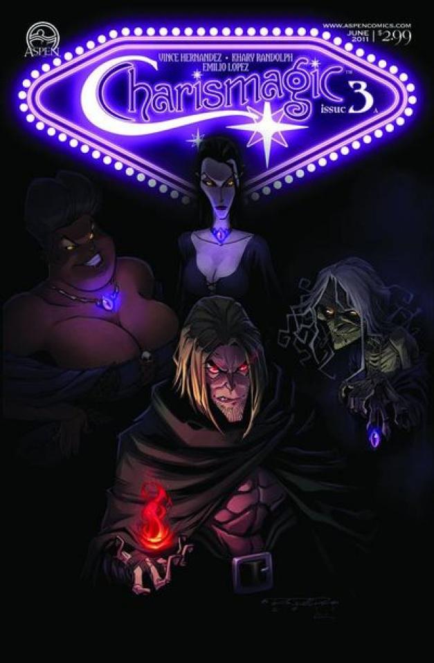 Charismagic #3 (Randolph Cover)
