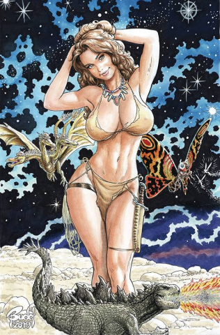 Cavewoman: Badlands (Budd Root Cover)