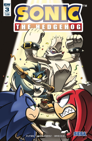 Sonic the Hedgehog #3 (Hernandez Cover)