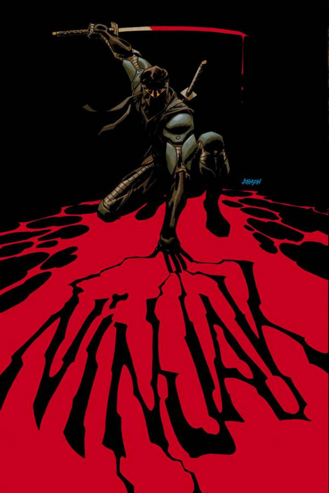 Ninjak #2 (Johnson Cover)