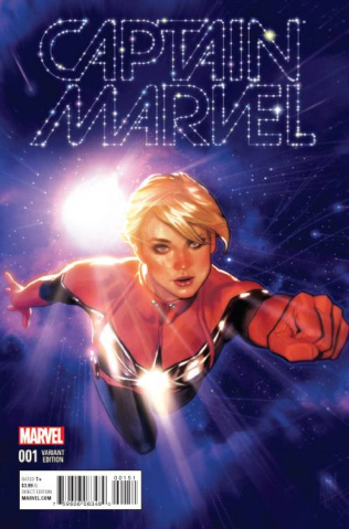Captain Marvel #1 (Variant Cover)