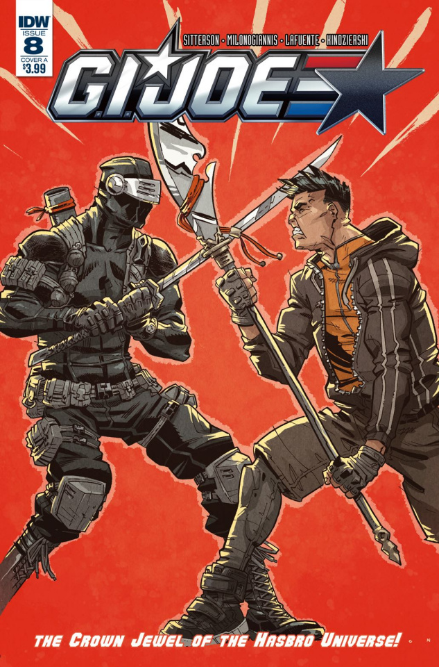 G.I. Joe #8 (Conley Cover)