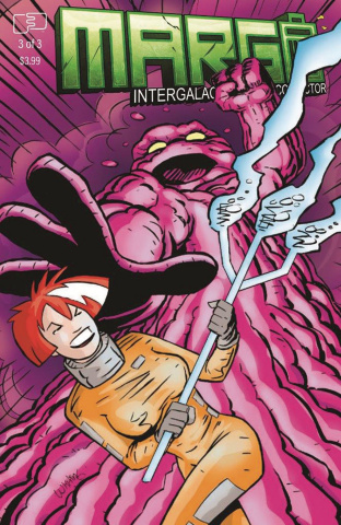 Margo: Intergalactic Trash Collector #3 (Whiting Cover)