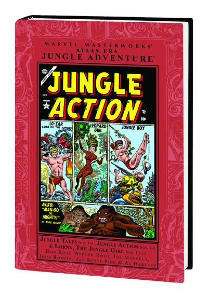 Atlas Era Jungle Adventure Vol. 2 (Marvel Masterworks)
