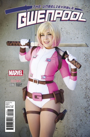 Gwenpool #6 (Cosplay Cover)