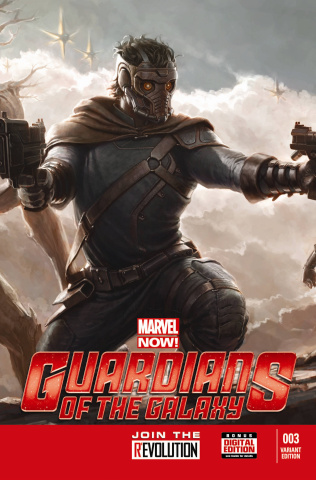Guardians of the Galaxy #3 (Movie Cover)