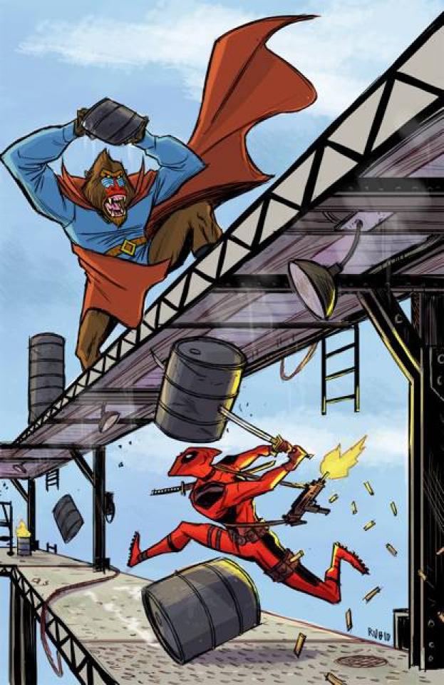 Deadpool's Secret Secret Wars #2 (Rubio Cover)