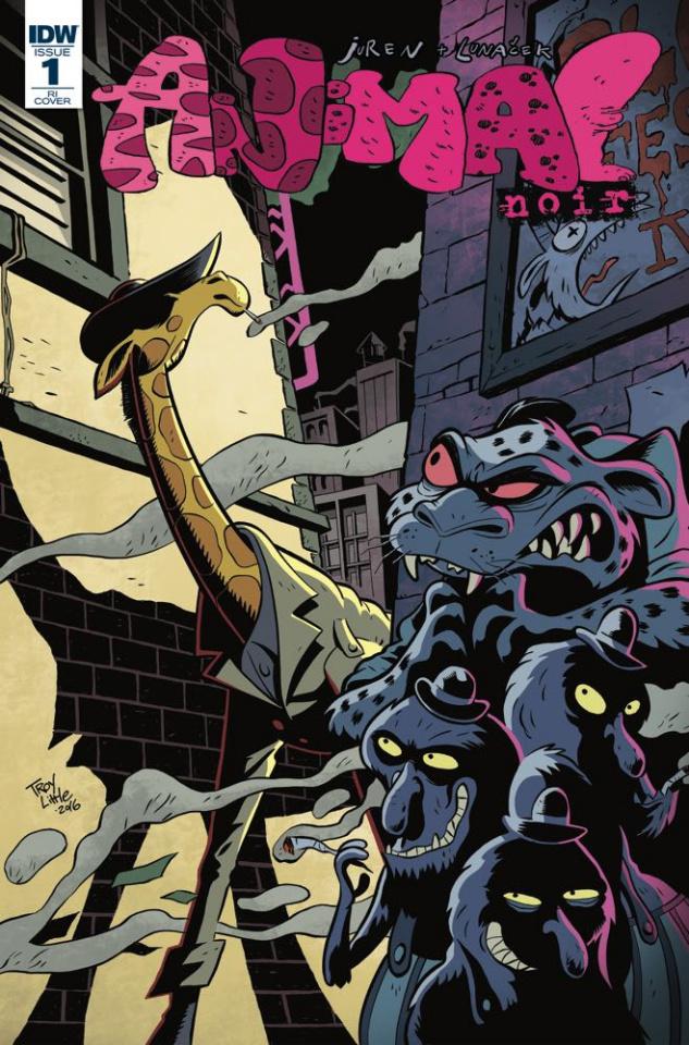 Animal Noir #1 (4 Copy Cover)