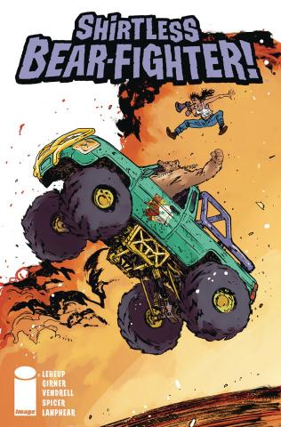 Shirtless Bear-Fighter! #4 (Johnson Cover)