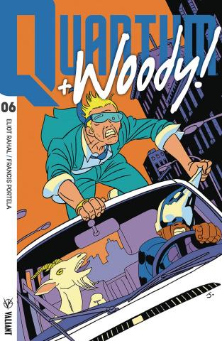 Quantum & Woody #6 (50 Copy Pulido Cover)