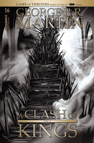 A Clash of Kings #16 (20 Copy Rubi B&W Cover)