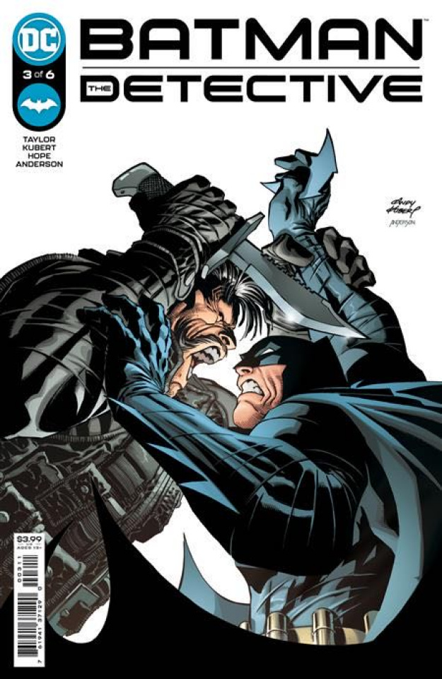 Batman: The Detective #3 (Andy Kubert Cover)
